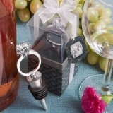 FashionCraft Sparkling Diamond Ring Bottle Stopper