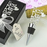 "FashionCraft Metal ""Best Day Ever"" with Heart Bottle Stopper"