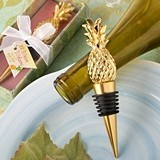 FashionCraft Warm Welcome Collection Pineapple Themed Bottle Stopper