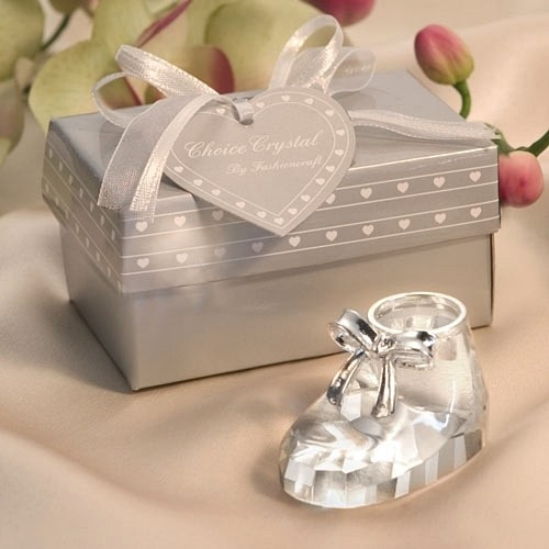FashionCraft Adorable Crystal Baby Shoe