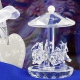 FashionCraft Choice Crystal Collection Carousel Favor