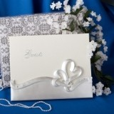 FashionCraft Interlocking Hearts Design Wedding Guest Book