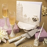 FashionCraft Fairytale Design Cinderella-Themed Wedding Accessory Set