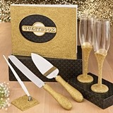 FashionCraft Golden Elegance 50th Anniversary Accessories Set