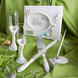FashionCraft Personalizable Beach-Themed Wedding Day Accessories Set