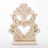 Vintage Style Flourish Design Fleur De Lis Cake Topper/Centerpiece