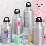 Silkscreened Collection Personalized Water Bottle (Baby Shower)