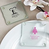 Personalized Silkscreened Glass Coasters for All Occasions