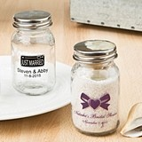 Silkscreened Collection Personalized Miniature Mason Jar with Screwtop