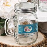 Clearly Custom Collection Personalized Mason Jar (Birthday Designs)