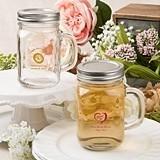 Silkscreened Birthday Designs Personalized Glass Mason Jar w/ Screwtop