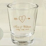 Silkscreened Collection Monogrammed Shot Glasses (9 Designs)
