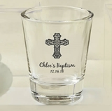 Silkscreened Collection Personalized Religious Event Shot Glasses