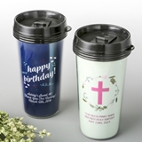 Personalized Double-Wall Insulated Coffee Cup (Birthday Designs)