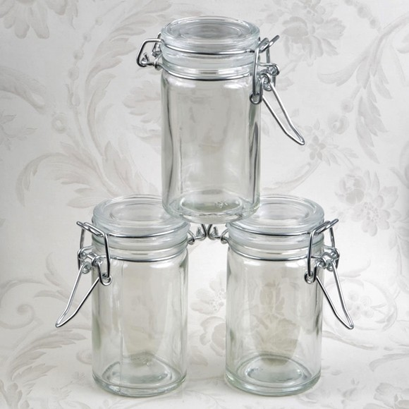 FashionCraft Perfectly Plain Collection Apothecary Jar