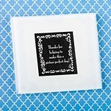 FashionCraft Perfectly Plain Collection Glass Photo Coaster