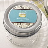 Personalized Expressions Collection Quilted Jelly Jar (Birthday)