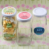 Personalized Expressions Collection Vintage Milk Bottle (Baby Shower)