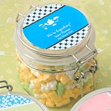 Personalized Expressions Large Acrylic Apothecary Jar (Baby Shower)