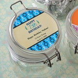 Personalized Expressions Large Acrylic Apothecary Jar (Birthday)