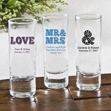 Silkscreened Collection Personalized Cordial Glass w/ Marquee Designs