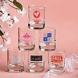 Silkscreened Collection Personalized Shot Glasses for All Occasions