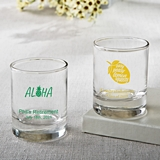 Silkscreened Collection Personalized Shot Glasses (Tropical Designs)