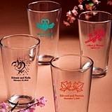 Silkscreened Collection Personalized Pint Glasses for All Occasions