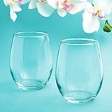 FashionCraft 'Perfectly Plain Collection' Stemless 9 oz. Wine Glasses