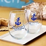 Personalized 9 Ounce Stemless Wine Glasses for All Occasions