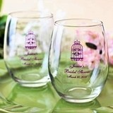Personalized Large 15 Ounce Stemless Wine Glasses for All Occasions