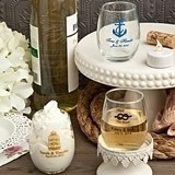 Personalized Petite Stemless Wine Glasses for All Celebrations