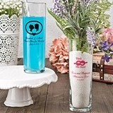 Silkscreened Glassware Collection Personalized Zombie Glass/Vase
