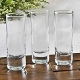 FashionCraft Perfectly Plain Collection 2 ounce Shooter Glasses
