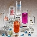Silkscreened Glassware Collection Personalized 2 oz Shooter Glasses
