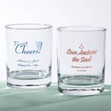 Silkscreened Glassware Collection Personalized 13 oz Rocks Glasses