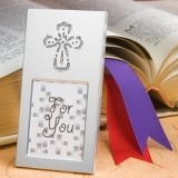FashionCraft Shining Cross Picture Frame