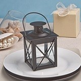 "FashionCraft ""Love Lights the Way"" Black Metal Lantern"