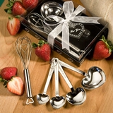 FashionCraft Measuring Spoons and Whisk Favor Set in Designer Gift-Box