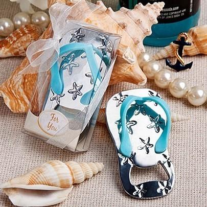 FashionCraft Beach Themed Flip Flop Shaped Bottle Opener