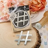 Hashtag Love Collection Chrome Finish Bottle Opener