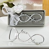 FashionCraft Infinity Design Silver Metal Bottle Opener