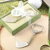 FashionCraft Golf Club Design Metal Bottle Opener