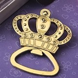 FashionCraft 'Make it Royal' Gold-Metal Crown Design Bottle Opener