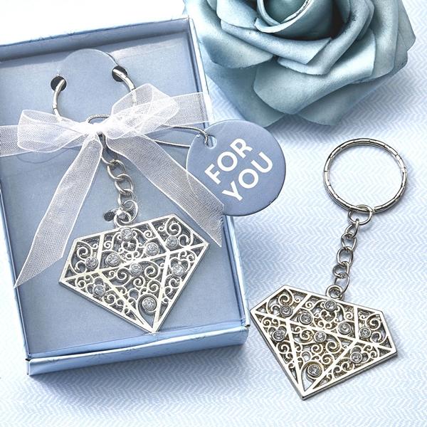 FashionCraft Diamond Design Metal Key Chain
