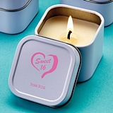 Personalized Screen-Printed Scented Travel Candle Tin (Birthday Party)