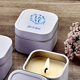 Design Your Own Direct Screen-Printed Scented Travel Candle Tin