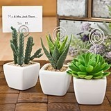 FashionCraft Shabby Chic Potted Faux-Succulents (Sold Individually)