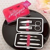 FashionCraft 'Hello Gorgeous' Manicure Set in Hot Pink Case