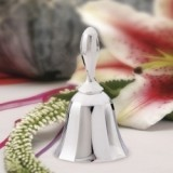 FashionCraft Elegant Silver-Plated Wedding Bell